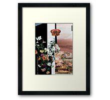 Floral Desert Framed Print