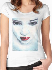 Blue Stare Women's Fitted Scoop T-Shirt