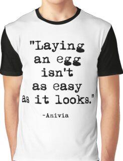 Anivia Quote Graphic T-Shirt