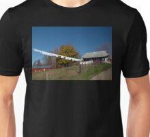Washing Line, Amish Style. Unisex T-Shirt