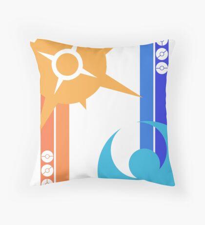 Sun & Moon - Pokemon Throw Pillow