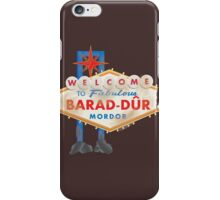 Welcome to Barad-Dur iPhone Case/Skin
