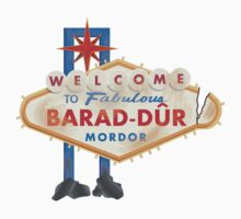 Welcome to Barad-Dur One Piece - Short Sleeve