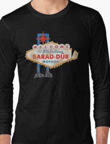 Welcome to Barad-Dur Long Sleeve T-Shirt
