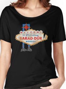 Welcome to Barad-Dur Women's Relaxed Fit T-Shirt