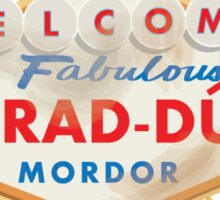 Welcome to Barad-Dur Sticker
