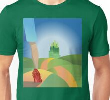 glitter yellow brick road  Unisex T-Shirt