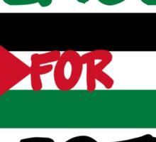 Peace for Palestine Sticker