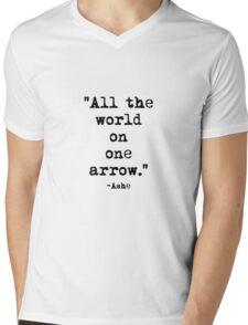 Ashe Quote Mens V-Neck T-Shirt