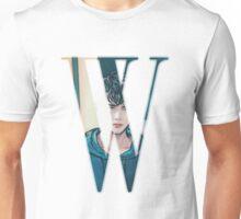 """W"" Kdrama Webtoon Design Unisex T-Shirt"