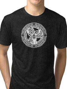 I am a Stag: of seven tines Tri-blend T-Shirt