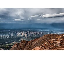 View From Pikes Peak  Photographic Print