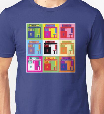 Warhol Photobooth Unisex T-Shirt