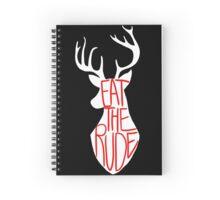 Eat the Rude Spiral Notebook