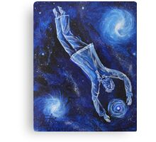 Oil Painting - Stardiver. 2011 Canvas Print