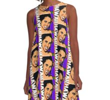 AFTER DARK-HAWAII A-Line Dress