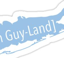long island pronunciation Sticker