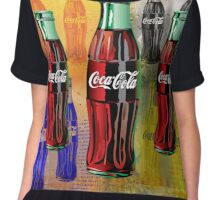 Coke - Coca Cola - Pop Art Chiffon Top