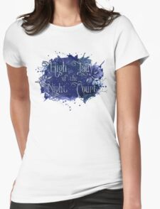 High Lady of the Night Court Womens Fitted T-Shirt