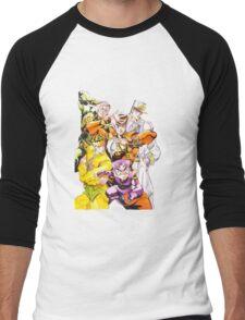 The JJBA:DIU Gang Men's Baseball ¾ T-Shirt