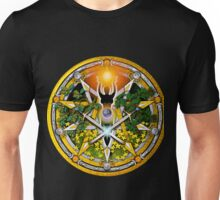 Sabbat Pentacle for Litha, the Summer Solstice Unisex T-Shirt