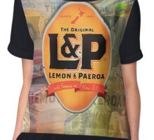 Lemon and Paeroa - L&P Chiffon Top