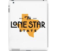The lone star state iPad Case/Skin