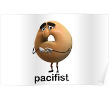 sammy bagel junior pacifist Poster