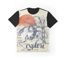 Explore. Graphic T-Shirt