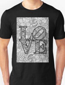 LOVE B/W Unisex T-Shirt