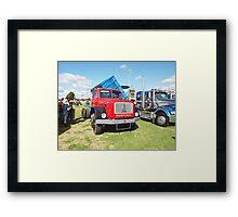 Magirus-Deutz 195D16 4WD Three Way Tipper Framed Print