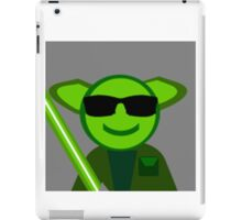 Yoda Shades iPad Case/Skin