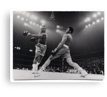Cassius Clay Canvas Print