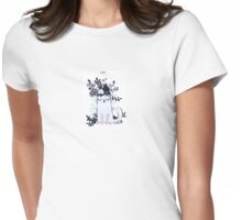 Fly Little Kitty Womens Fitted T-Shirt