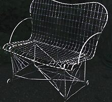The Wire Chair by Betty Mackey