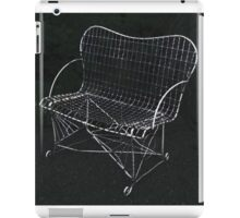 The Wire Chair iPad Case/Skin