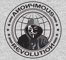 Anonymous Revolution Kids Tee