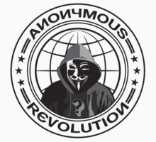 Anonymous Revolution One Piece - Short Sleeve