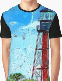 Anclote Lighthouse Graphic T-Shirt