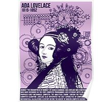 Illustrating Great Minds - Ada Lovelace Poster