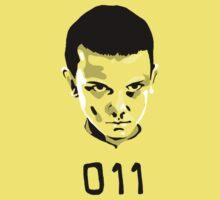 Eleven 11 Stranger Things Kids Tee