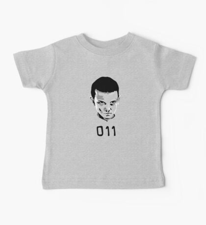 Eleven 11 Stranger Things Baby Tee