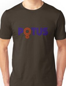 POTUS FEMALE Unisex T-Shirt