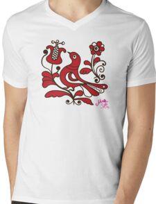 Corund Pop-Teez Mens V-Neck T-Shirt
