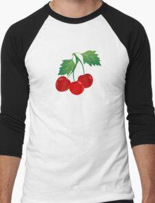 CHERRY Men's Baseball ¾ T-Shirt