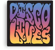 Disco Lives Canvas Print