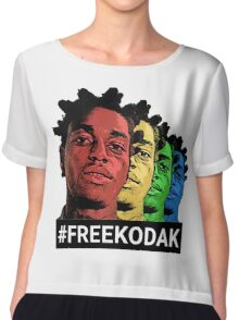 kodak black Chiffon Top