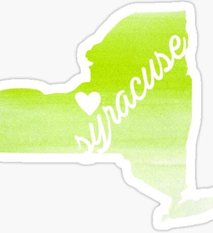Syracuse Sticker