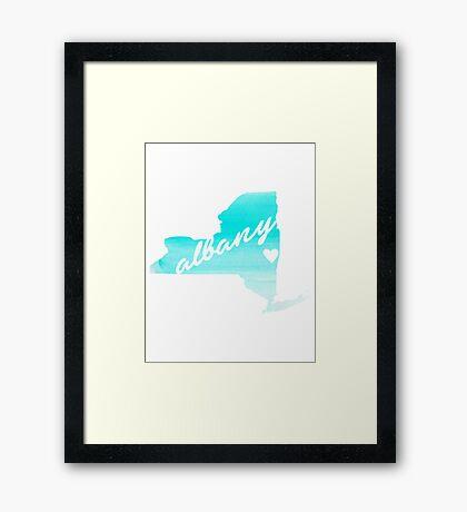 Albany Framed Print
