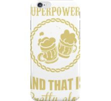 BEER IS MY SUPERPOWERS iPhone Case/Skin